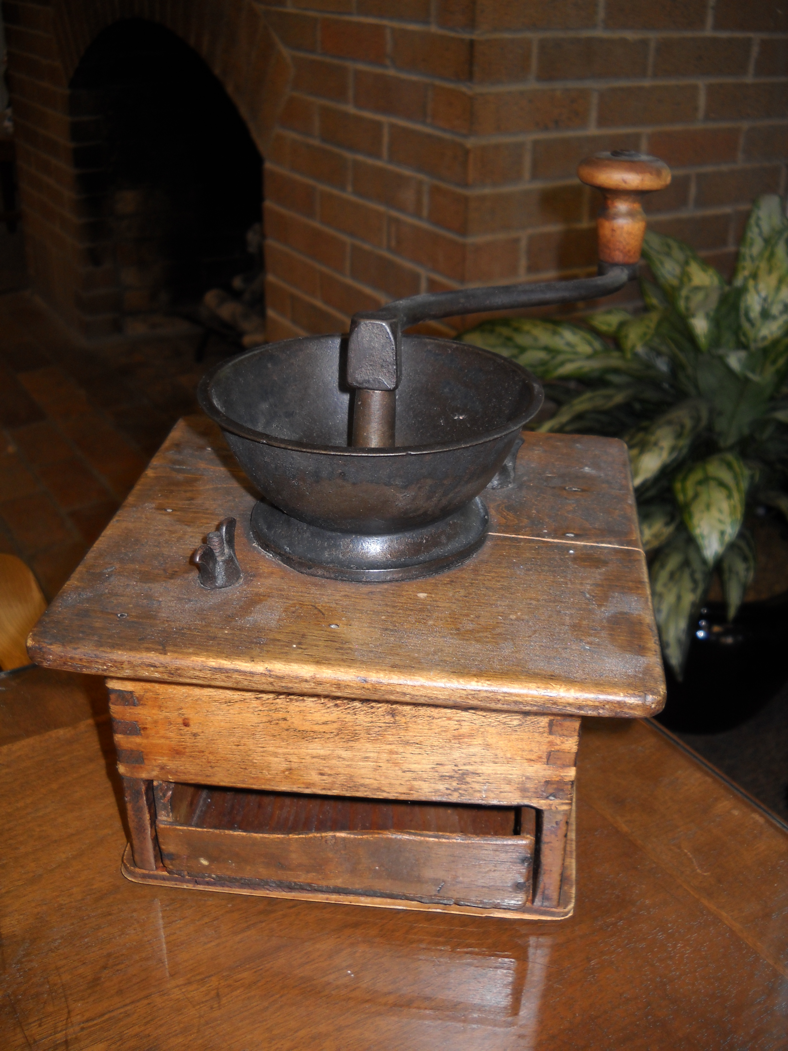 Coffee Grinder From Late 1800's